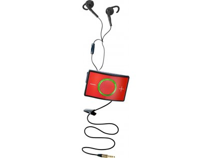 Vysílačka tréninková 1ks CEECOACH 1, black/red