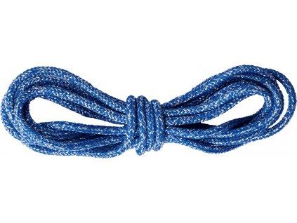 Tkaničky do bot ELT, 2ks, blue glitter