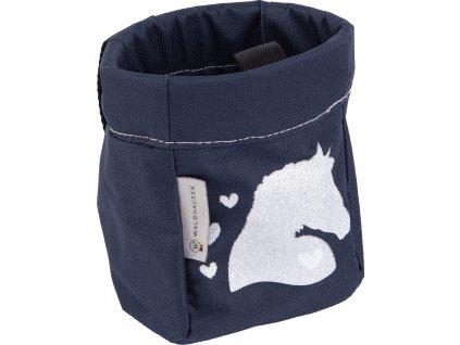 Taška na pamlsky Unicorn Waldhausen, night blue/lucky heart