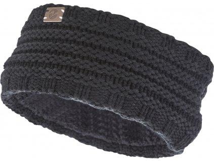 Čelenka zimní Fanny BUSSE, černá