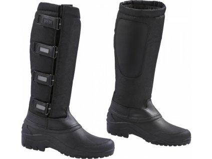Boty vysoké Toronto BUSSE, zimní, černé