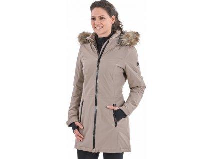 Kabát zimní Simfony BUSSE, dámská, taupe