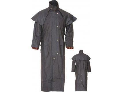 Australský nepromokavý plášť Umbria Equitazione, tmavě hnědý