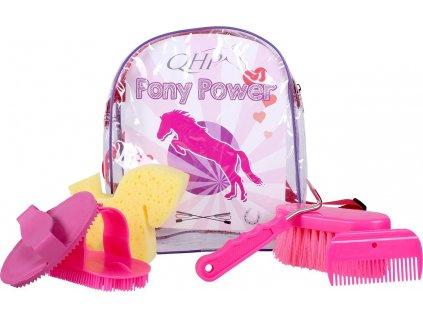 Batoh s čištěním QHP, dětský, fuchsia