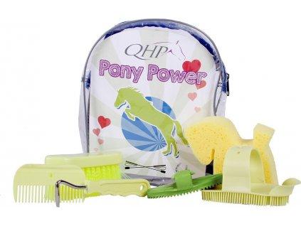 Batoh s čištěním QHP, dětský, lime