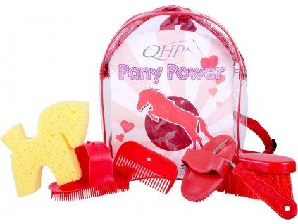 Batoh s čištěním QHP, dětský, red