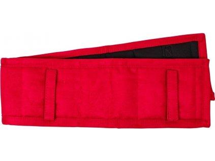 Dečka pod lonžovací obřišník QHP, bright red