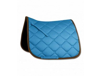 Dečka podsedlová Esperia Waldhausen, azure blue/brown