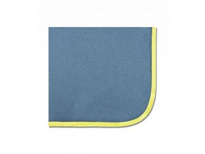 Deka odpocovací fleece Economic Waldhausen, blue/lime