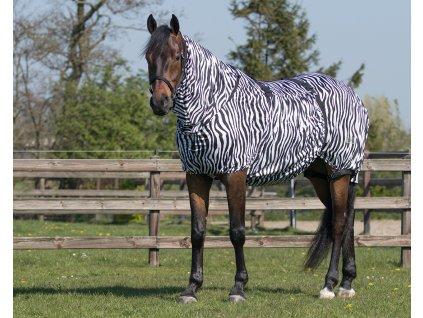 Deka proti hmyzu ECZEMA QHP, s krkem, zebra