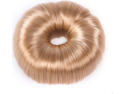 Gumička do vlasů Donut QHP, blond