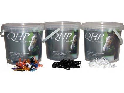 Gumičky na hřívu QHP, různé barvy