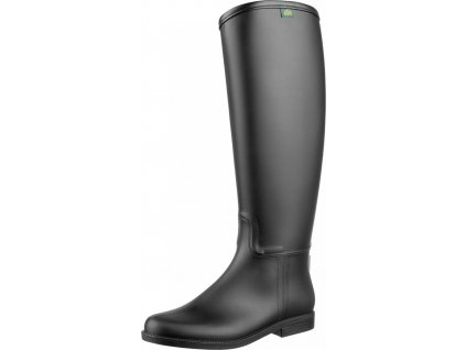 Boty vysoké jezdecké Happy Boot Starter, unisex, černé