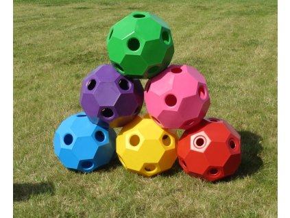 Happy Hay Play - míč na seno (Barva růžová)