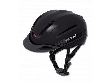 Helma H12 SWING, černá matná (Barva schwarz matt, Velikost 58 - 62 cm)