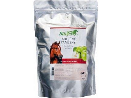 Pamlsky pro koně STIEFEL, 1 kg, jablečné