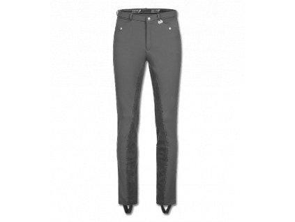 Jezdecké kalhoty Micro Jodhpur ELT, pánské, šedé (Barva grau, Velikost 56)