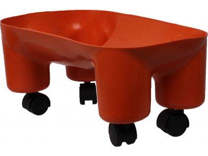Kolečka ke skákajícímu koníkovi JUMPY QHP, orange
