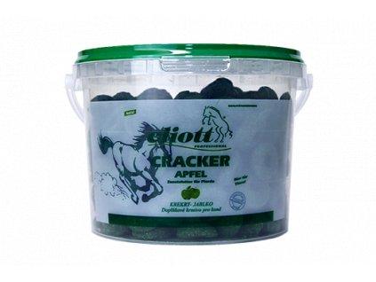 Krekry pro koně Eliott, jablečné