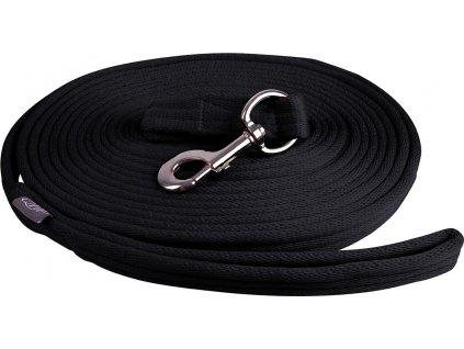 Lonž QHP 8m, černá