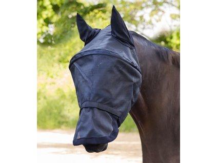 Maska proti hmyzu s ochranou uší a nozder Premium Waldhausen, černá