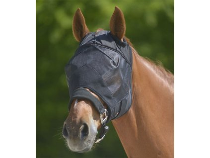 Maska proti hmyzu bez ochrany uší Premium Waldhausen, černá