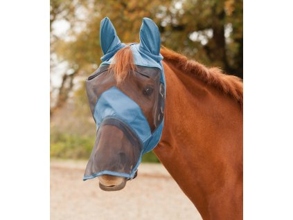 Maska proti hmyzu s ochranou uší a nozder Waldhausen, powder blue