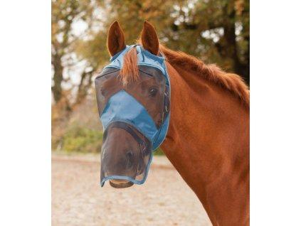 Maska proti hmyzu bez ochrany uší/ s překrytím nozder Waldhausen, powder blue