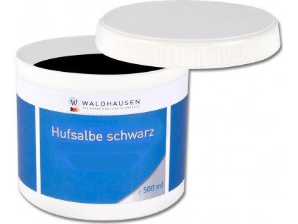 Mast na kopyta Waldhausen 500 ml,  černá