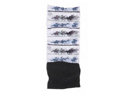 Multifunkční šátek s fleecem MATT, dětský, white/light grey