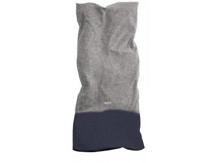 Multifunkční šátek s fleecem MATT, unisex, grey