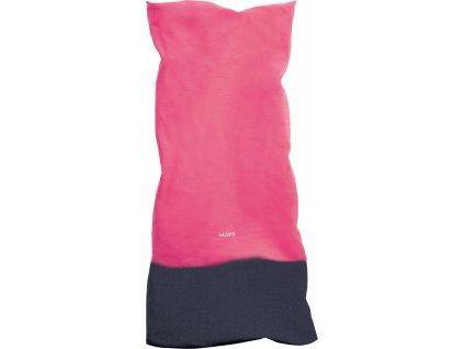 Multifunkční zimní šátek s fleecem MATT, unisex, pink