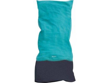 Multifunkční zimní šátek s fleecem MATT, unisex, turquoise