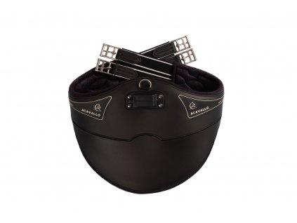 Gel & PVC Studguard podbřišník ACAVALLO, černý