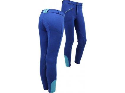 Rajtky Junior QHP s kolenními záplatami, dětské, royal blue