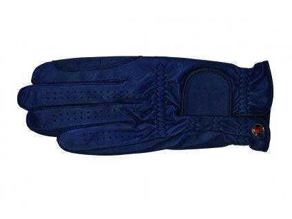 Rukavice jezdecké Galaxy Haukeschmidt, navy blue