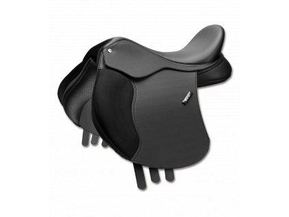 Sedlo univerzální 500 All Purpose Pony Cair Wintec, černé