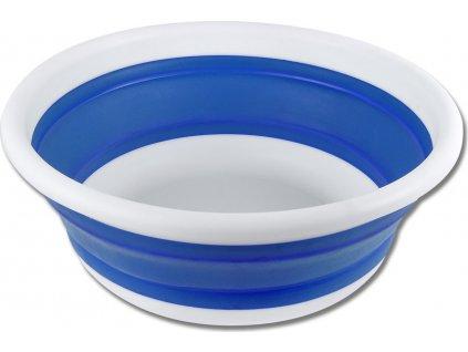 Skládací kýbl 6l Waldhausen, azure blue