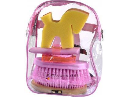 Taška s čištěním Waldhausen, pink
