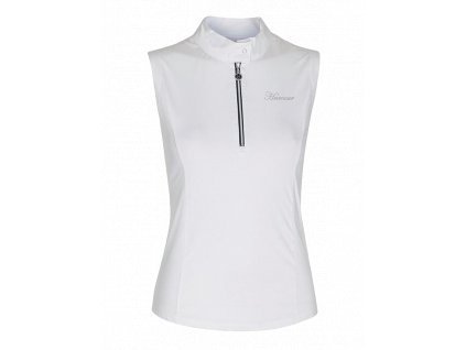 Tričko Polo LEA RIDER HARCOUR, bílé