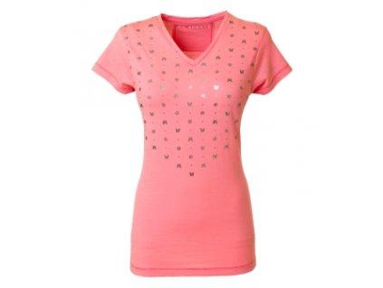 Tričko TWISTER PK, Pink Glow