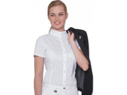 Košile závodní Cassandra ELT, dámská, bílá