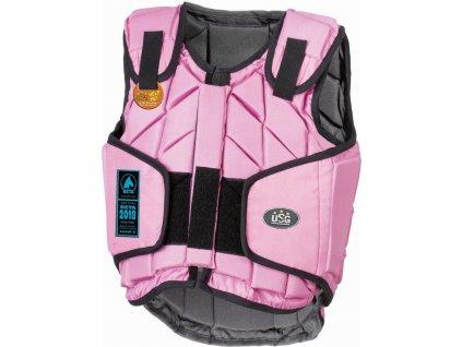 Vesta bezpečnostní Eco-Flexi USG, pink