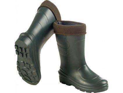 Zateplené boty Crosslander Montreal -30°C Ladies green