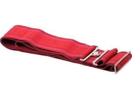 Elastický popruh k dece QHP, bright red