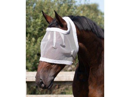 Maska proti hmyzu bez ochrany uší QHP, grey