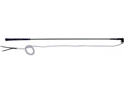 Bič/ hůlka na práci ze země 1,2m QHP, černá