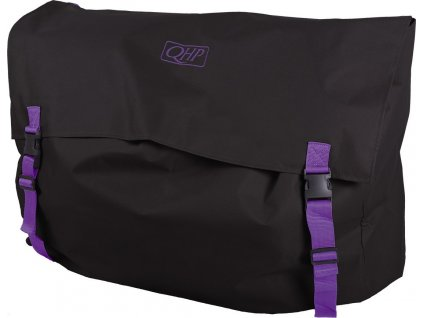 Taška na box QHP, black/purple