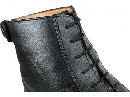 Elastické tkaničky QHP, černé