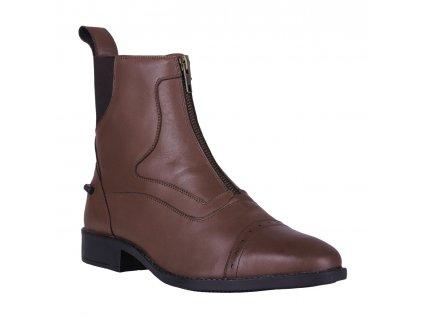 Nízké jezdecké boty Milaan QHP, chestnut